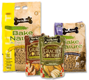 yummy stuff for dogs and cats from Three Dog Bakery