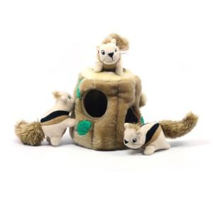 Hide a Squirrel Interactive Dog Toy