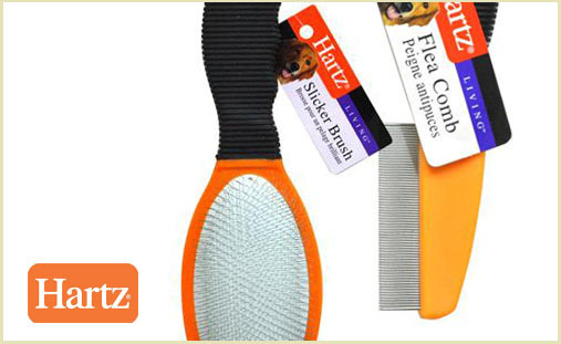 Hartz brush and comb deal at DoggyLoot