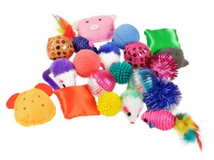 Kitty toy grab bag on sale with free shipping