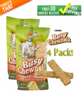 FREE Busy Chewnola for Dogs