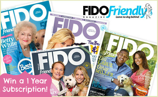 Fido Friendly Magazine Giveaway