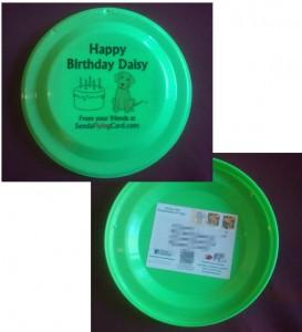 Daisy's Flying Birthday Card