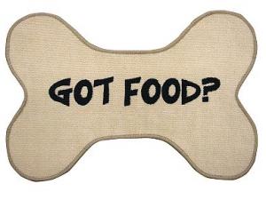 Got Food Dog Bone Rug