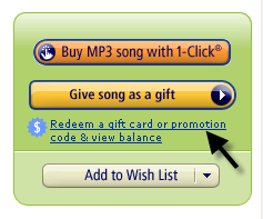 Link to redeem amazon mp3 promo code