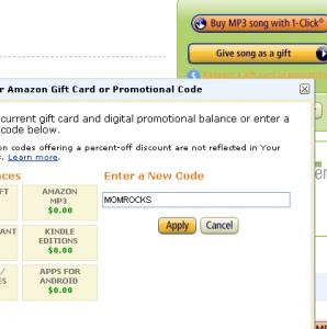MOMROCKS Amazon Promo Code