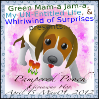 Pampered Pooch Giveaway Hop