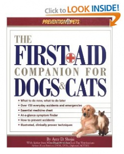 Pet First Aid Companion Book for Dogs and Cats