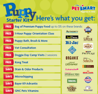 Puppy Starter Kit Giveaway
