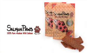 Salmon Paws Salmon Jerky Treats for Dogs