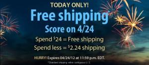 Vitacost Free Shipping and $10 signup bonus