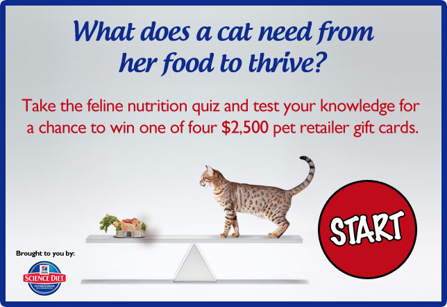 Win a $2,500 Pet Gift Card!