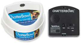 chatterbowl talking food bowl for dogs