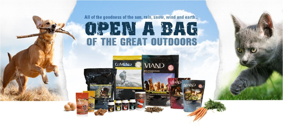 Viand dog and cat food samples and discount