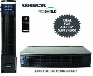 oreck air purifier on sale