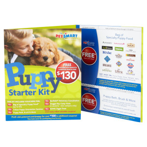 PetSmart Puppy Starter Kit