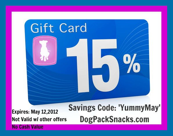 Dog Pack Snacks Savings Code!