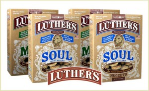 Luther's dog treat deal at doggyloot