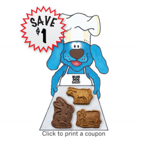 Blue Dog Bakery Printable Coupon