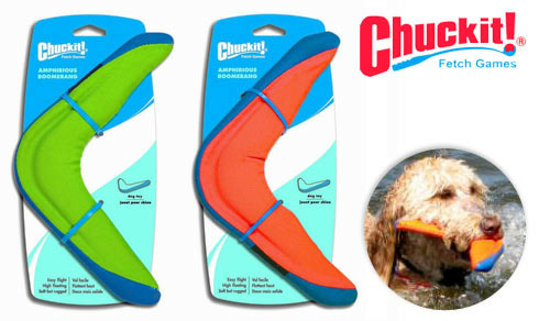 Chuckit Boomerang deal at doggyloot