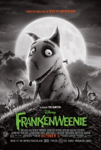 Frankenweenie Hi-Res Movie Poster!