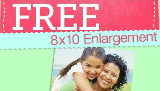 Free 8X10 Photo Walgreens Promo Code