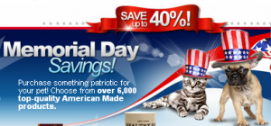 Made in USA Sale for dogs and cats
