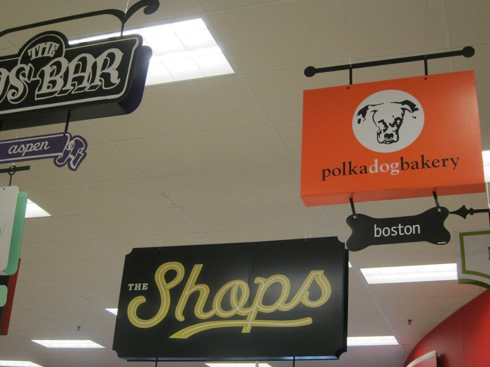 Shops at Target Polka Dog Bakery