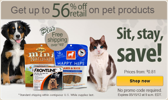 Vitacost natural pet deals