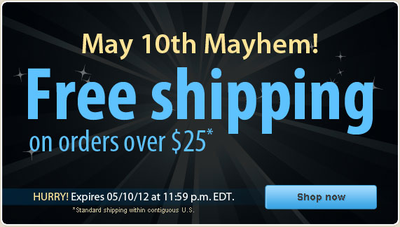 Free Shipping Special at Vitacost