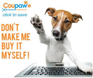 coupaw pet deals site