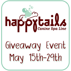 HappyTails Spa Giveaway Event May 15-29th