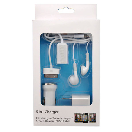 $1 iPhone travel charger kit