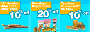 Best Bully Sticks Weekly Specials