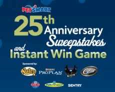 PetSmart Sweepstakes and Instant Win Game