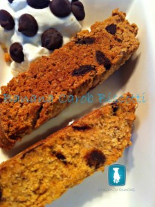 banana carob biscotti recipe for dogs