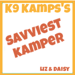 K9 Kamp Savviest Blogger Award 2012