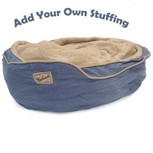 Add Your Own Stuffing Dog Bed!