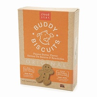 all-natural, dog treats, orange box, buddy biscuits by Cloud Star pet products