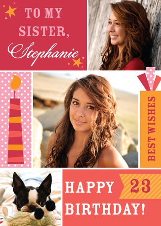 FREE Personalized Birthday Card
