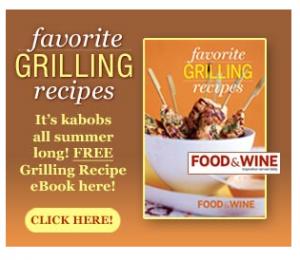 Free Favorite Grilling Recipes Cookbook!
