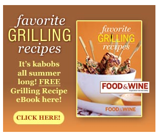 Free Favorite Grilling Recipes Cookbook!
