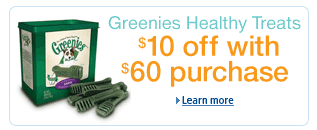 Savings on Greenies Dental Chews for dogs, sale, coupon, discount