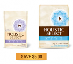 Holistic Select Pet Food Coupons