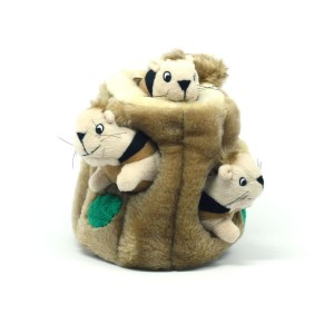Kyjen Hide a Squirrel Puzzle Dog Toy