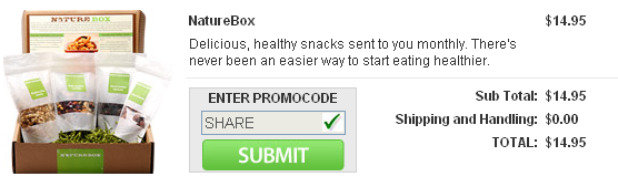 NatureBox Promo Code