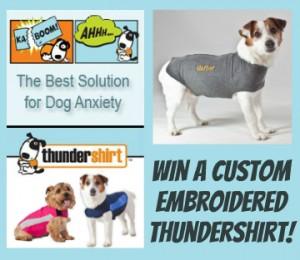 Win a Custom Embroidered Thundershirt!