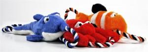 Tuggernauts Ocean Dog Toys