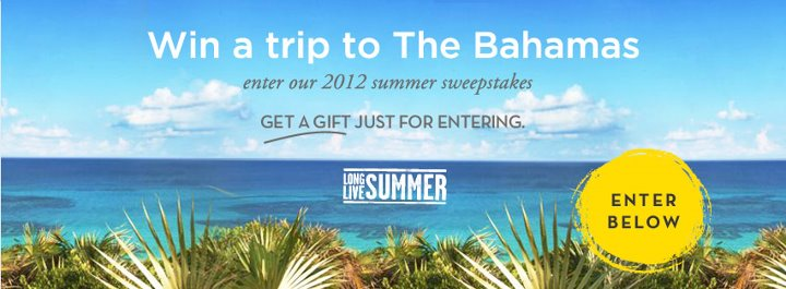 Win a Bahamas Vacation for FOUR