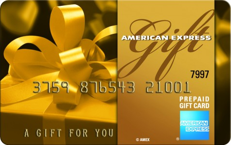 Win an amex gift card